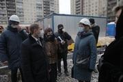 М.Романов проинспектировал ход строительства социальных объектов