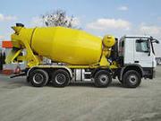 Раствор цементный М50-М250,  бетон ,  своевременная доставка с РБУ