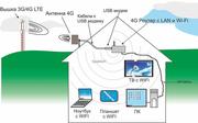 Интернет в частный дом,  дачу,  офис   4G,  3G оборудование - foto 0