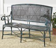 Кованые столы и скамейки. - foto 4