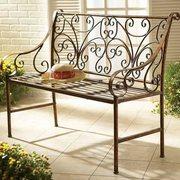 Кованые столы и скамейки. - foto 5
