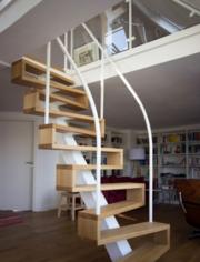 Акция до 28 февраля Лестница любой сложности из массива дерева - foto 1