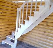 Акция до 28 февраля Лестница любой сложности из массива дерева - foto 2