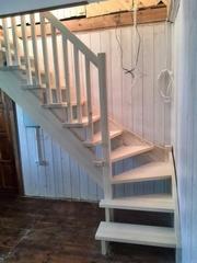 Акция до 28 февраля Лестница любой сложности из массива дерева - foto 3