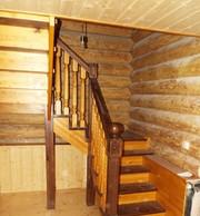 Акция до 28 февраля Лестница любой сложности из массива дерева - foto 6