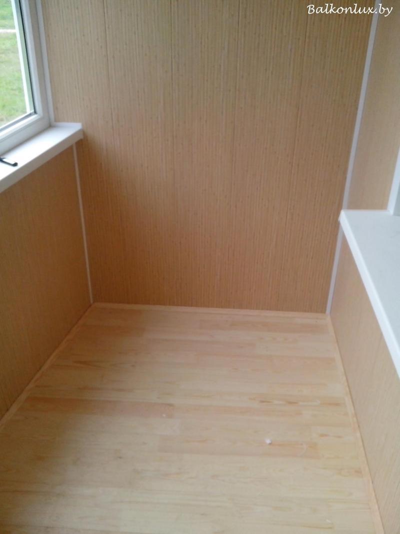 Укладываем деревянный пол на балконе, минск.