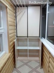 Тумбы на балкон: тумбочка и шкаф - foto 1