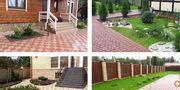 Укладка тротуарной плитки, мощение от 40 м2 Минск и область - foto 1