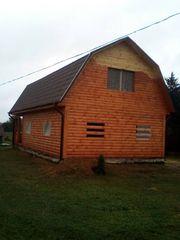 Дом из профилированного бруса проект Владимир 9х7м