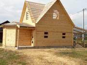 Дом-Баня из бруса готовые срубы с установкой-10 дней недорого - foto 1