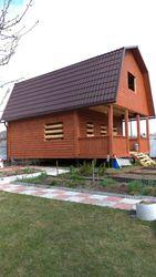 Дом 6х6 м проект Улла из профилированного бруса
