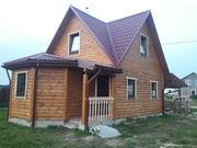 Построим Дом сруб из проф. бруса проект Андрей 6х8м под ключ за 16500$ - foto 3