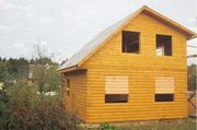 Строим Дома срубы из бруса недорого и качественно