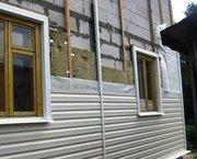 Отделка дома сайдингом,  утепление каменной ватой Минск и обл - foto 1