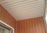 Монтаж панелей из дерева и ПВХ на стены и потолок - foto 2