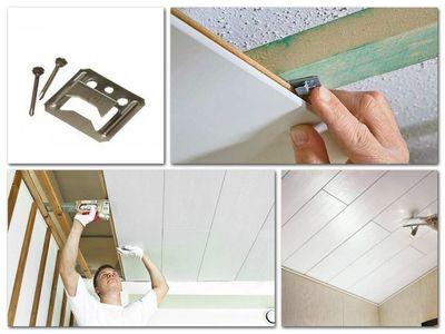 Монтаж панелей из дерева и ПВХ на стены и потолок - main