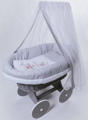 Колыбель плетеная для новорожденного - foto 0