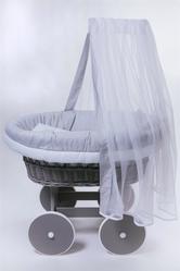 Колыбель плетеная для новорожденного - foto 1
