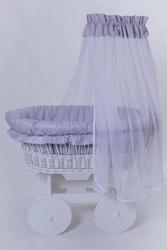 Колыбель плетеная для новорожденного - foto 2