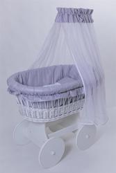 Колыбель плетеная для новорожденного - foto 4