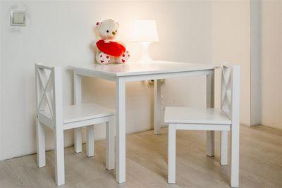 Набор в детскую комнату. Стол и два стульчика - main