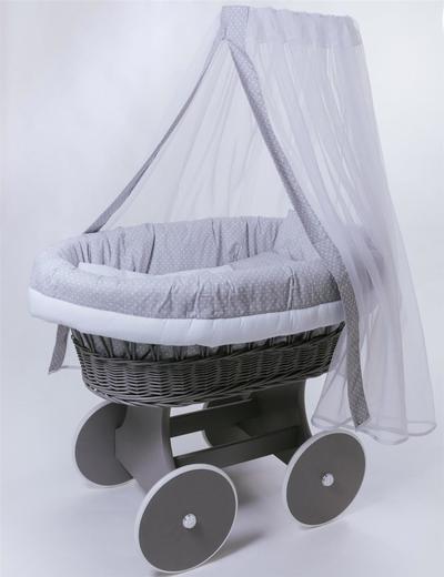 Колыбель плетеная для новорожденного - main