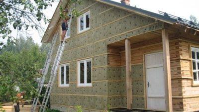 Производим утепление фасадов частных домов Качество - main