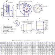 Вентилятор двухстороннего всасывания производительностью 31000м3/час - foto 1