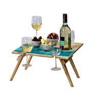 Складные винные столики и столики для пикника.