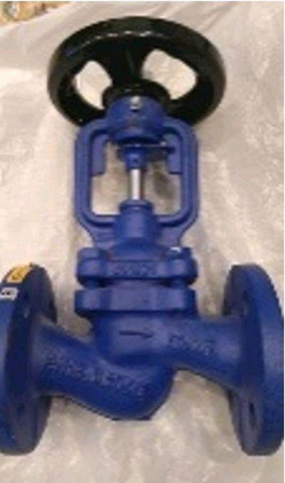 Клапан запорный с сильфонным уплотнением ARI-FABA-PLUS 12.046 DN25,  PN - main