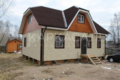 Каркасный дом 8х10 по проекту Двина под ключ - main
