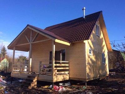 Каркасный дом 6х7м по проекту Назия под ключ - main