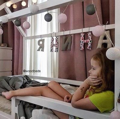 Детские кроватки - домики - main
