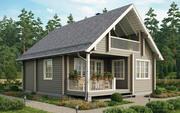 Строительство домов из бруса по готовым проетам