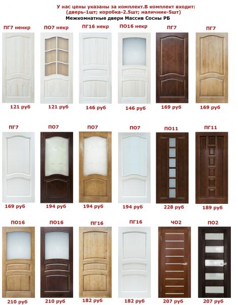 Самые дешевые межкомнатные двери в минске