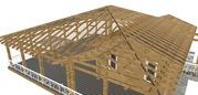 проект каркасного дома,  бани,  навеса. строительный проект каркасника
