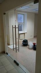 Офисные перегородки из стекла и алюминия под ключ - foto 0