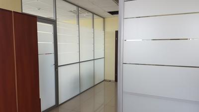 Офисные перегородки из стекла и алюминия под ключ - main